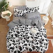 Комплект постельного белья Cute panda (двуспальный-евро), фото 4