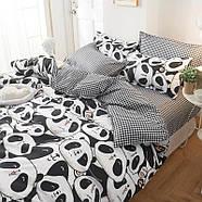 Комплект постельного белья Cute panda (двуспальный-евро), фото 8