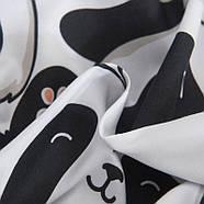 Комплект постельного белья Cute panda (двуспальный-евро), фото 10