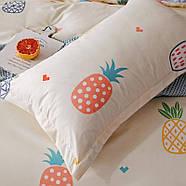 Комплект постільної білизни Colored pineapple (двоспальний євро), фото 7