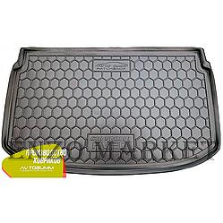 Автомобільний килимок в багажник Chevrolet Aveo 2012 - Hatchback (Avto-Gumm)