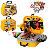 Детский игровой набор инструментов 008-916A в чемодане