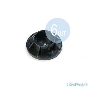 Підніжка Intex 10309-6 для круглих басейнів Metal Frame (для стійки Ø 4 см). Кількість 6 шт, (Оригінал)