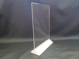 Менюхолдеры, держатели, подставки под печатную продукцию А3 формата вертикальные и горизонтальные