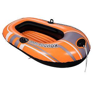 Одноместная надувная лодка Bestway 61099, Condor 1000, 155 х 93 см, (Оригинал)