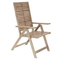 """Кресло раскладное садовое деревянное """"Naterial multi"""""""