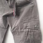 Джинсы мужские ITENO (Tophero) светлые песочный оригинал р.32 прямые Карго весна/осень (есть другие цвета), фото 4