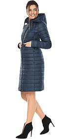 Синяя куртка женская с карманами модель 68410