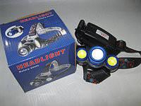Фонарь налобный Bailong BL-C861-T6+COB