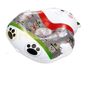 Одноместный надувной сани - тюбинг для катания Bestway 39063 «Мишка», 120 х 121 см, (Оригинал)