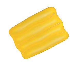 Надувна вінілова подушка Bestway 52127, жовта, 38 х 25 х 5 см, (Оригінал)