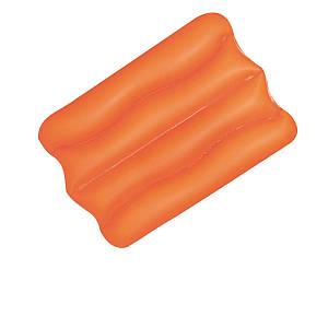 Надувна вінілова подушка Bestway 52127, помаранчева, 38 х 25 х 5 см, (Оригінал)