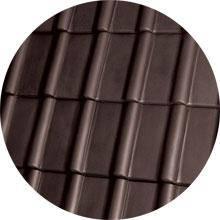 Черепица керамическая  Piemont коричневая ангобированная