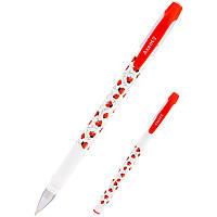 Ручка шариковая синяя Axent Ladybirds