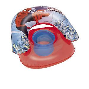 Детское надувное кресло Bestway 98008 «Спайдер Мен, Человек-Паук», красное, 76 х 76 см, (Оригинал)
