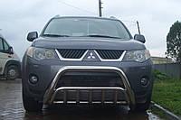 Кенгурятник для Mitsubishi Outlander 03-06 07-11 12-14 14-16 16+ Защита заднего бампера/дуги/пороги