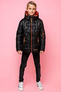 Демисезонная стильная куртка  на мальчика VKM-6