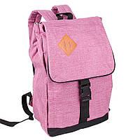 Рюкзак для ноутбука Usmivka жіночий 16 л рожевий 50509