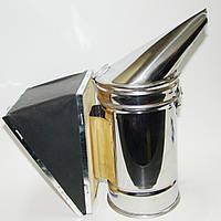 Димар з нержавіючої сталі d = 92 мм, хутро, шкіра