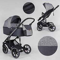 Дитяча коляска 2 в 1 Expander EXEO EX-65488 (1) колір Carbon, тканина з водовідштовхувальним просоченням