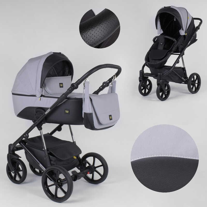 Дитяча коляска 2 в 1 Expander MODO M-91019 (1) колір GreyFox, водовідштовхувальна тканина