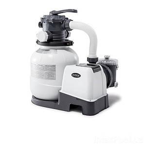 Песочный фильтр насос Intex 26646, 6 000 л\ч, 23 кг, New 2019, (Оригинал)