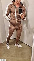 Мужской костюм спортивный весенний модный трендовый тренировочный стильный