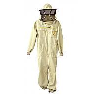Комбінезон бджоляра з маскою, Premium Line, Польща XXXL