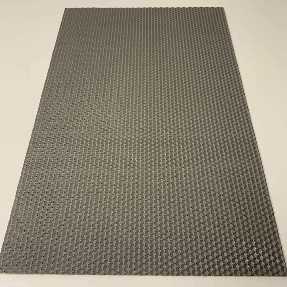 Кольорова вощина для виготовлення свічок, лист 41х26 см, сірий