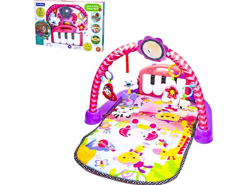 Дитячий розвиваючий килимок Fitch Baby з піаніно (8839)