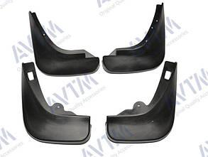 Брызговики на Ford Focus/Форд Фокус Хэтчбек 2004-2011 AVTM полный комплект