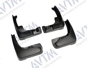 Брызговики на Toyota Camry/Тойоту Камри в40 2006-2011 AVTM полный комплект