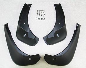 Брызговики на Nissan Qashqai/Ниссан Кашкай 2006-2014 AVTM полный комплект