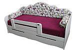 Детская кровать с ящиками Л-6 2,0х1,2 без подушек, фото 8