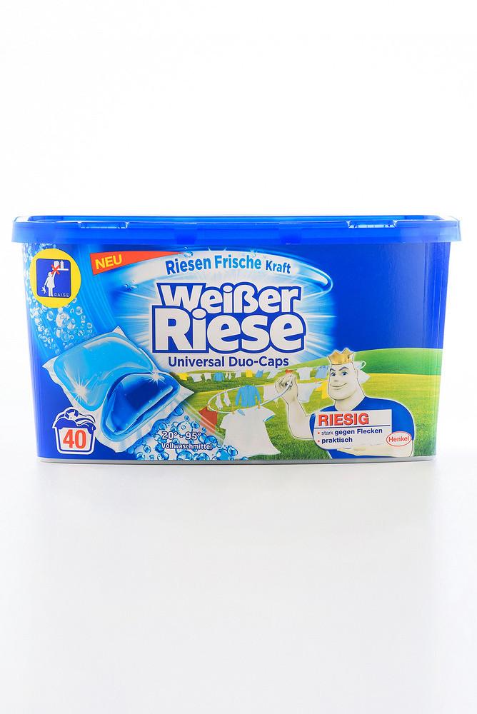 - Weisser Riese капсула д/прання UNIVERSAL Duo-caps (6/40*20)