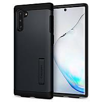 Чехол Spigen для Samsung Galaxy Note 10 Slim Armor, Metal Slate (628CS27541)