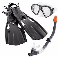 Набор для подводного плавания детский 55657 Intex Ласты, маска, трубка Т