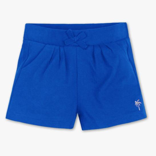 Шорти трикотажні для дівчинки, ріст 104, колір синій