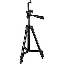 Розпродаж! Штатив для фотоапарата + кріплення для телефону Tripod 3120 A Black, тринога тримач для камери