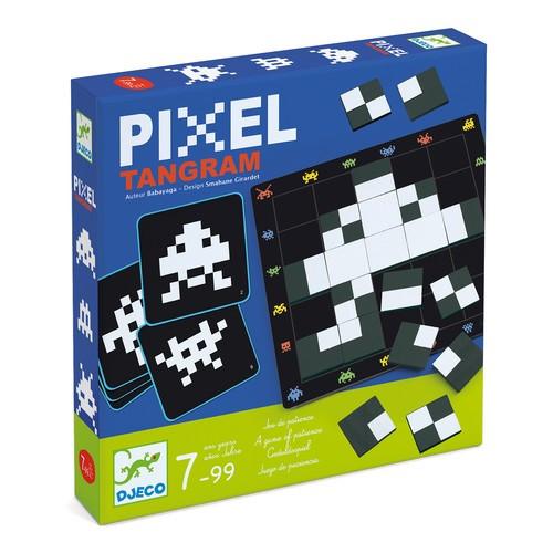 """Гра """"Pixel Tamgram"""" Djeco (DJ08443)"""