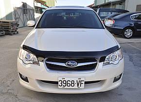 Дефлектор капота Subaru Outback /Субару Аутбек/Легасі 2004-2009 Хік на кріпленнях