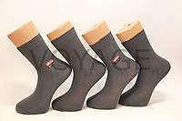 Чоловічі високі шкарпетки з бавовни МІЛАНО 41-46 темно сірий