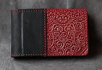 Визитница женская кожаная подарочная 36 карт