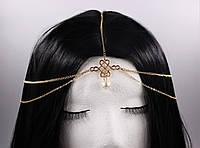 Украшение на голову Тиара Жемчужина Золото №36, фото 1