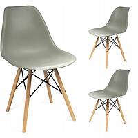 Кресло JUMI Scandinavian Design Grey Мебель для дома и дачи в Скандинавском стиле Серое