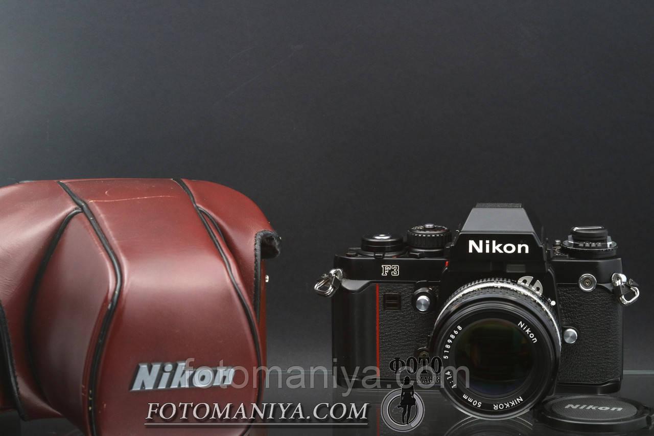 Nikon F3 kit Nikkor 50mm f1.4 Ai-S