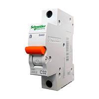 Автомат Шнайдер 32A 1Р BA63 C32 Schneider Electric 11206