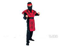 Карнвальный костюм Красный Ниндзя  110-120 см