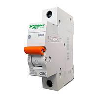 Автомат Шнайдер 50A 1Р BA63 C50 Schneider Electric 11208