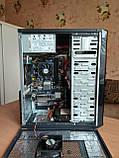Частково БВ Системний блок на базі Phenom II x4 B45 +AMD Radeon 3000 + 8GB RAM + 120ГБ-SSD + 120ГБ-HDD, фото 5